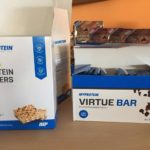 myprotein protein wafers and virtue bar